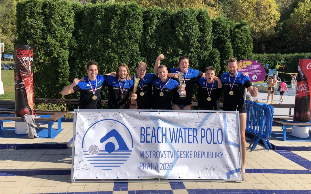 Mistři České republiky v Beach Water Polo pro rok 2020