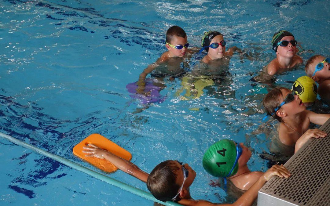 Soustředění pro nejmenší závodní plavce v Řečkovicích
